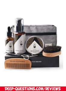 BEARD REVERENCE Premium Beard Grooming Kit Gift Review for husband