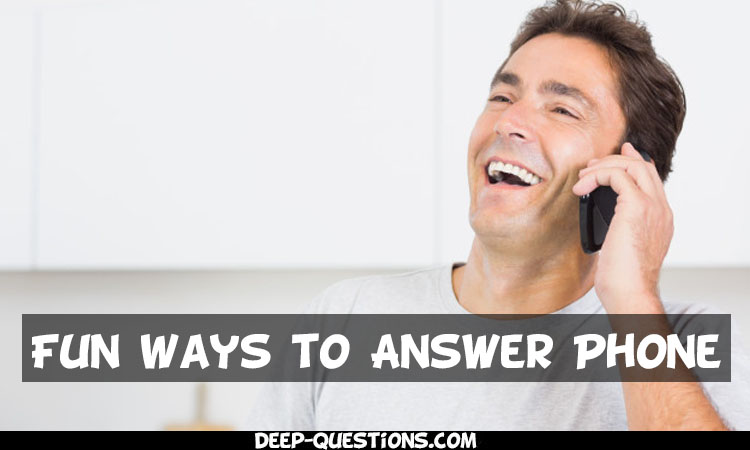 50 Fun Ways to Answer the Phone – Will Make Anyone Laugh Hard