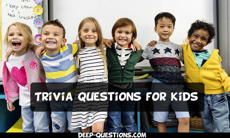 180 Trivia Questions for Kids by Deep-Questions.com